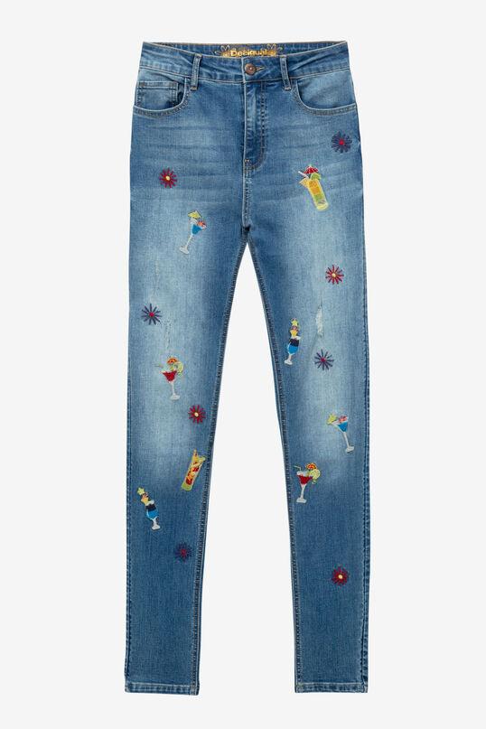 Pantalon slim taille haute Maitai | Desigual