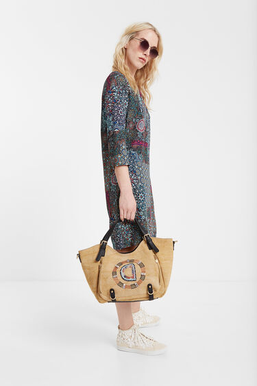 Short dress boho mandalas | Desigual