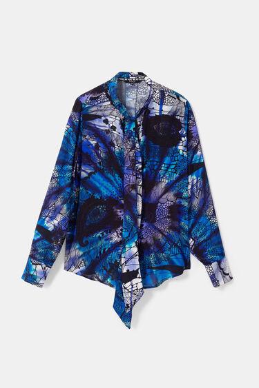 Galactic mandala print blouse | Desigual