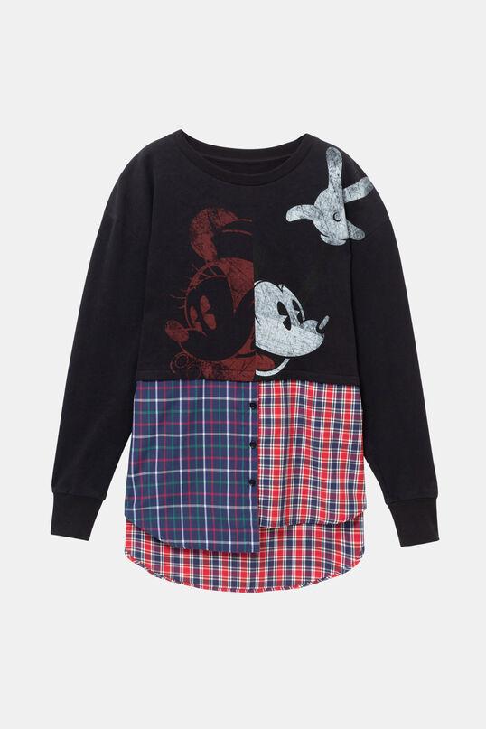 Mickey Mouse hybrid sweatshirt | Desigual