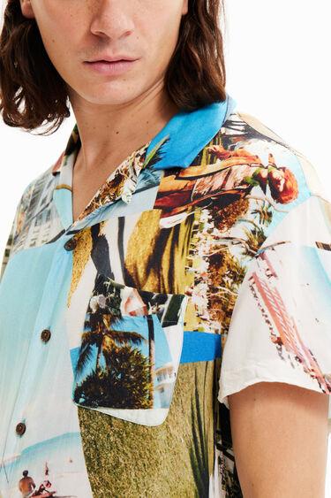 Unisex resort shirt South Beach | Desigual