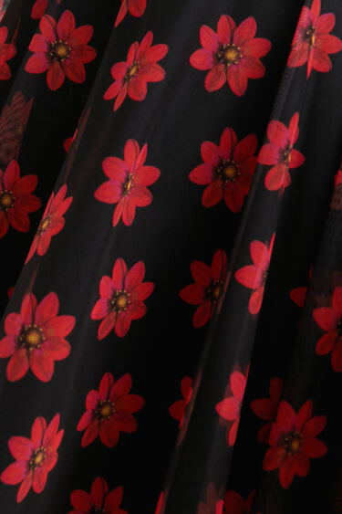 Vestido corto flores   Desigual