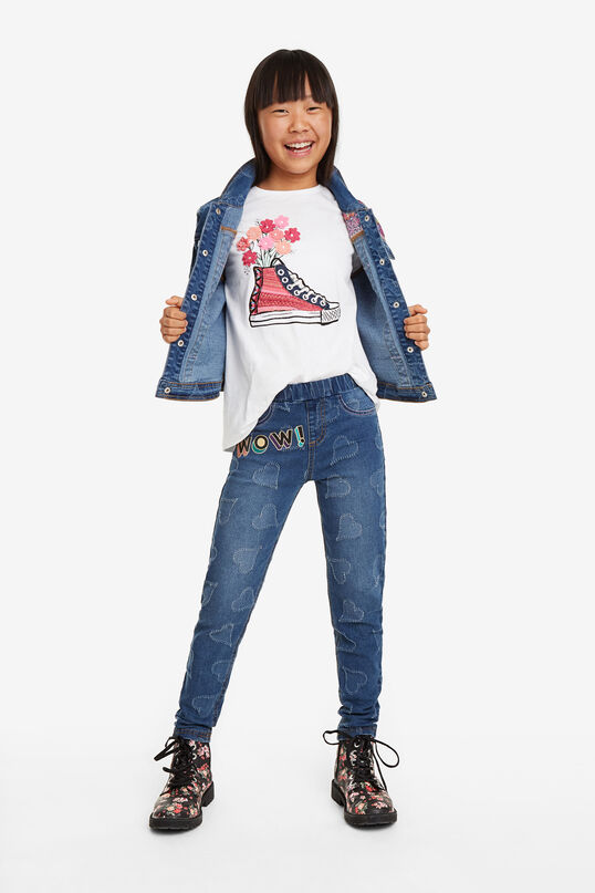 Jeggings bàsics cors denim | Desigual