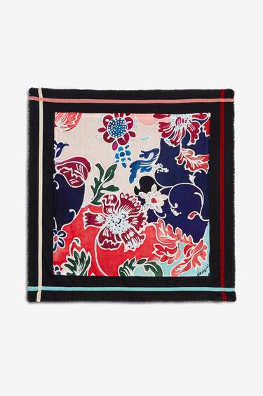 Square foulard flowers | Desigual