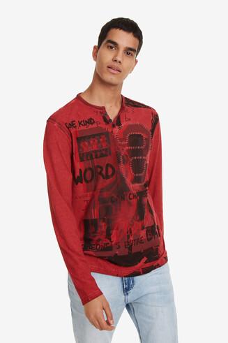 Camiseta roja Emilio