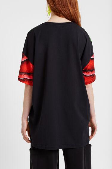 Oversize flower T-shirt | Desigual