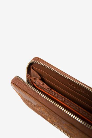 Blumiges Portemonnaie mit Reißverschluss | Desigual