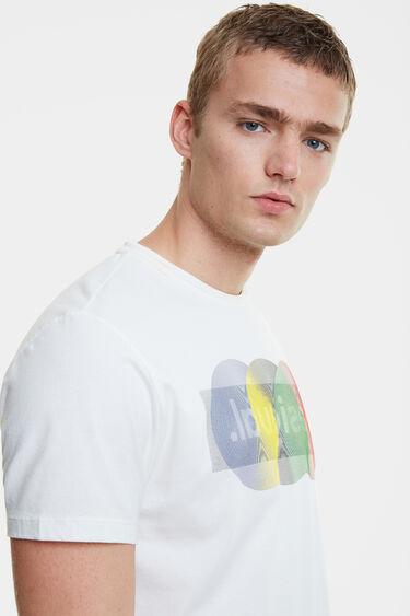 Maglietta logo arty | Desigual
