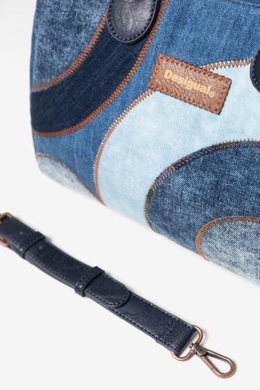 Denim handbag and sling bag | Desigual
