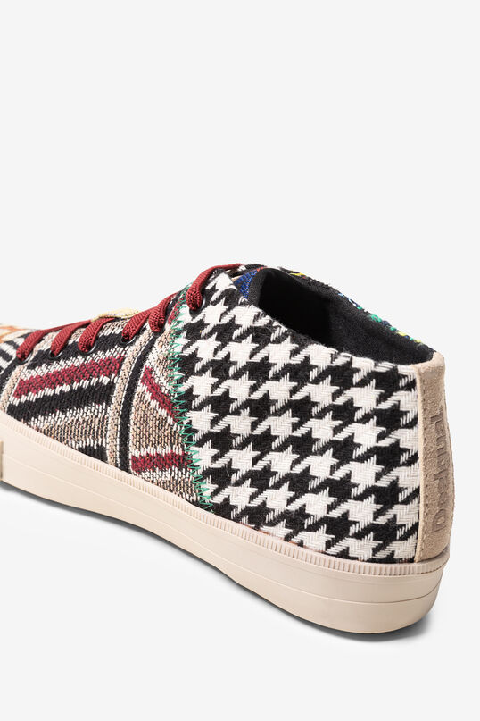 High-top jacquard trainers | Desigual