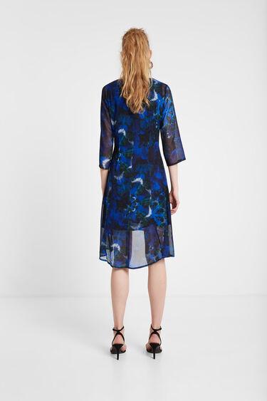 Long dress mandalas tie dye | Desigual