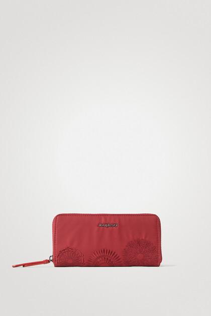Long coin purse mandalas