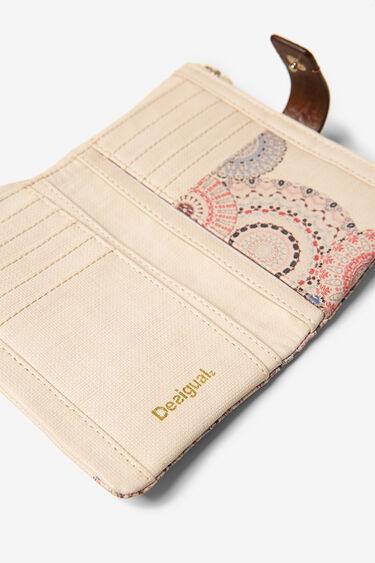 ボーホーデザインの曼陀羅模様ミニ財布 | Desigual
