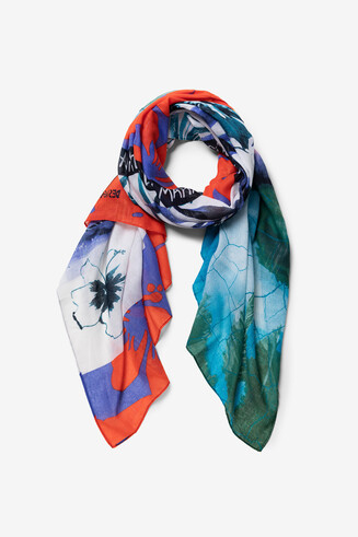 Fulard estampat Hawaii Laki Mahalo