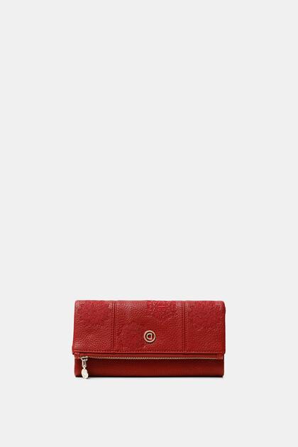 Rectangular flap coin purse