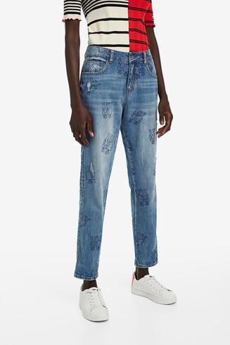 Jeans mit Robots