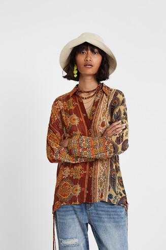 Boho-Bluse Hindu-Style