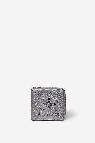 Mini-portemonnee met galactische mandala's | Desigual