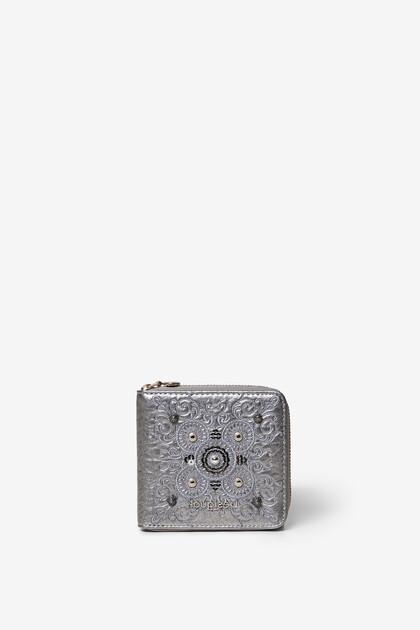 Mini-coin wallet galactic mandalas