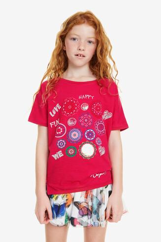 Reversible Mandalas T-shirt Denver