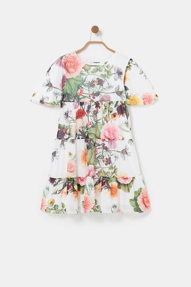 Short ruffle dress | Desigual