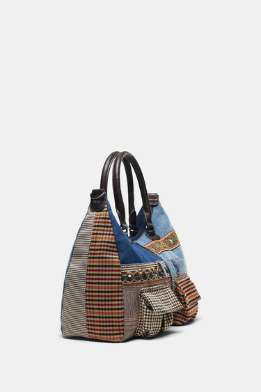 Patchwork denim bag | Desigual