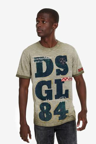 T-shirt DSGL84 100% algodão