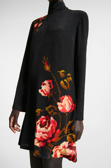 Floral straight dress | Desigual