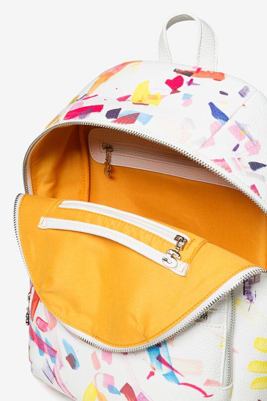 White Confetti Lima Backpack | Desigual
