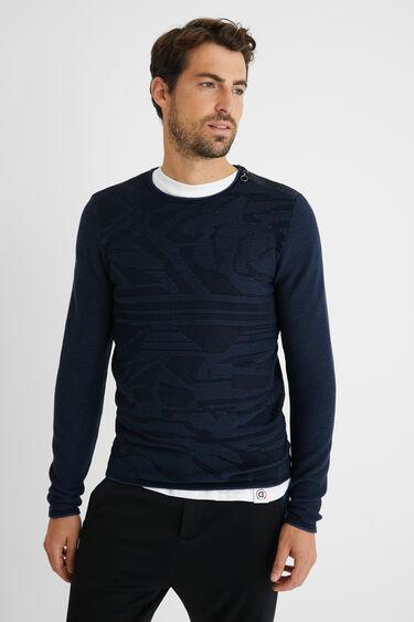 Pullover Reißverschluss 100% Baumwolle | Desigual