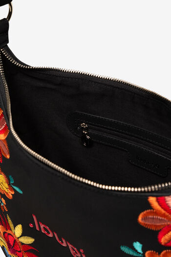 Shoulder bag floral print | Desigual