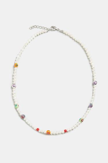 Girocollo perline tipo perla | Desigual
