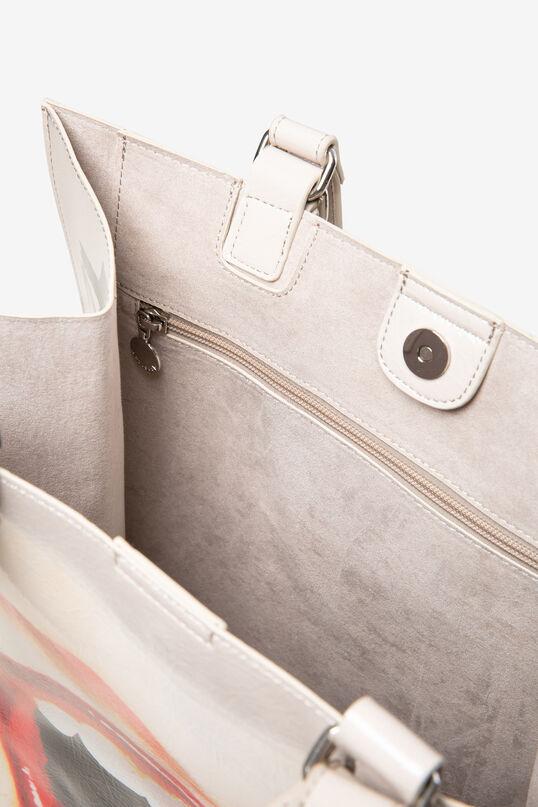 Leather effect bag lips | Desigual