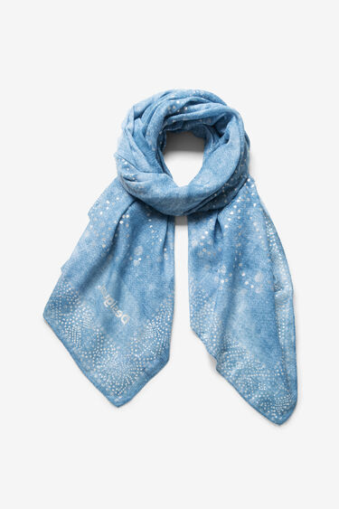 Fulard de mandales galàctics puntillistes | Desigual