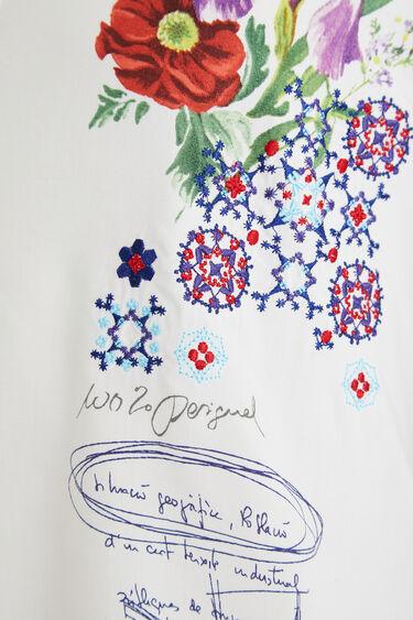 Chemise brodée fleurs | Desigual