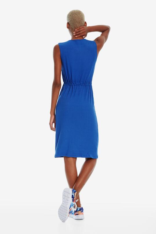 Vestido azul sin mangas Tigre   Desigual