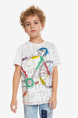 Multicolour Bicycle T-shirt Liam