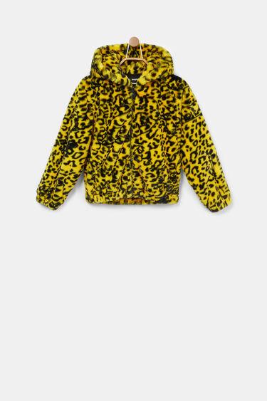 Hooded polar jacket   Desigual