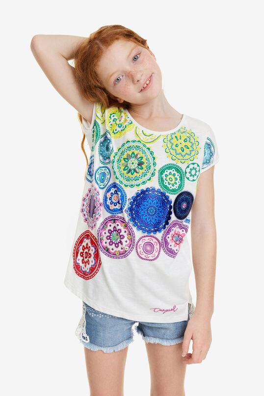 White Mandalas T-shirt Carolina | Desigual