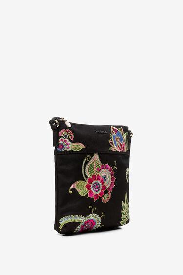 Floral embroidered sling bag | Desigual
