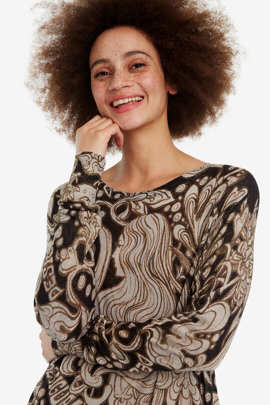 Pull col rond Flow | Desigual