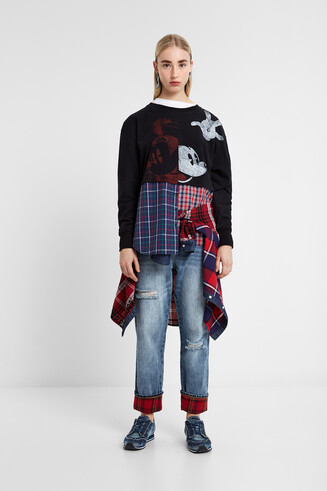 Mickey Mouse hybrid sweatshirt
