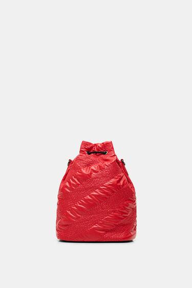 Sack bag padded gathered | Desigual