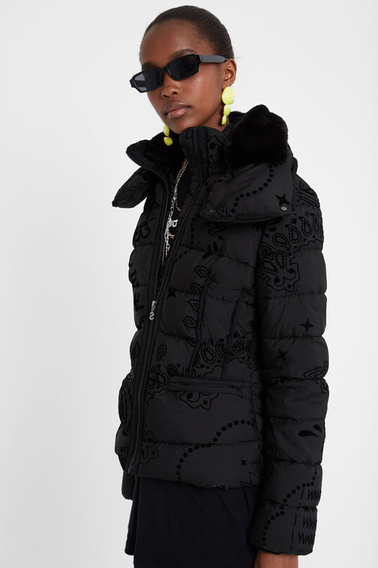 Padded turtleneck jacket | Desigual