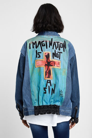 "Iconic Jacket: ""Imagination is not a sin"" 