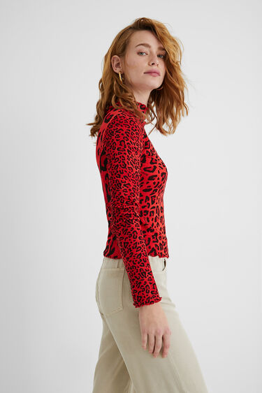 Slim-fit leopard T-shirt | Desigual