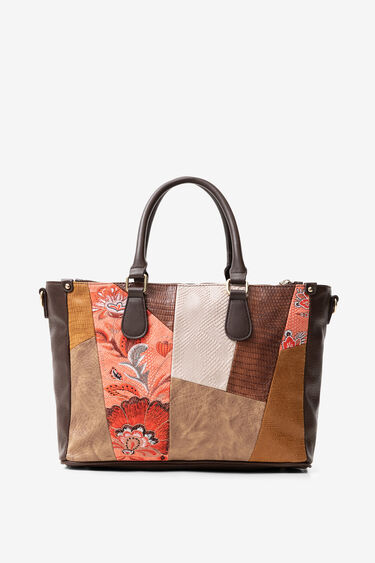 Bag floral and reptile patch | Desigual