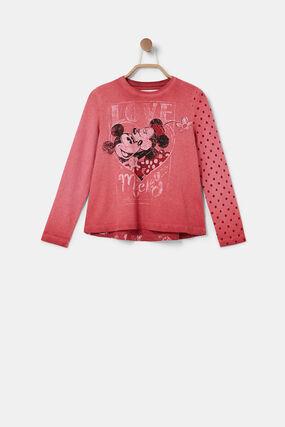 Camiseta manga larga Minnie Mouse