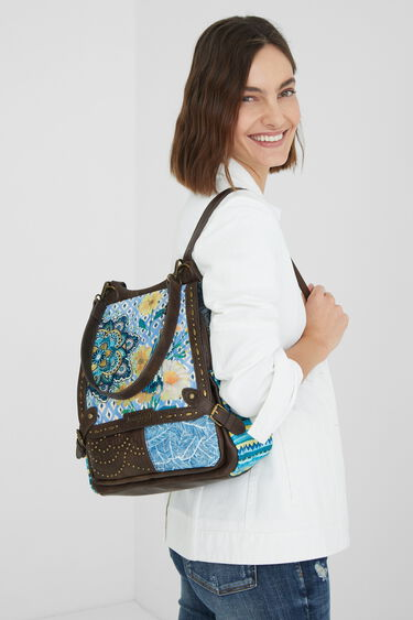 Backpack floral studs | Desigual