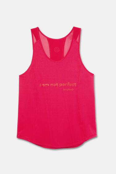 Racerback tank top T-shirt | Desigual